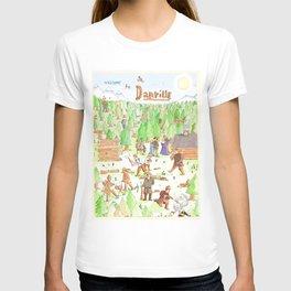 Locals Only- Danville T-shirt