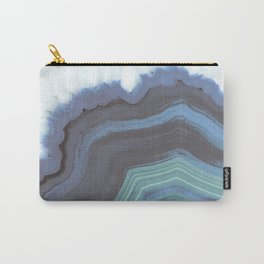Blue Jeans Agate Carry-All Pouch