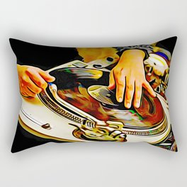 TURNTABLISM: MOVE THE CROWD! Rectangular Pillow