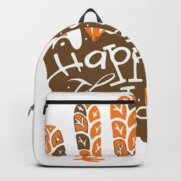 Thanksgiving Turkey Hand Backpack