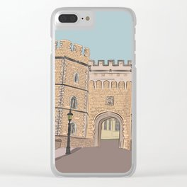 Windsor castle Clear iPhone Case