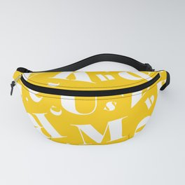 Letters Paper 2 Fanny Pack