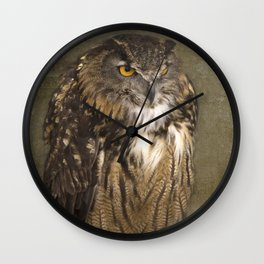 Grumpy Face Wall Clock
