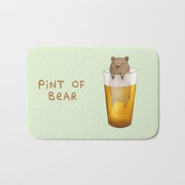 Pint of Bear Bath Mat