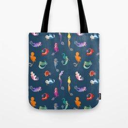 Many Mermaids Tote Bag