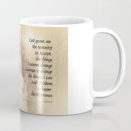Serenity Prayer Quince and Fence 2 Coffee Mug
