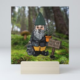 Gnome Grown Mini Art Print