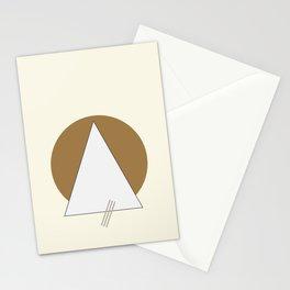 Minimal geometric art Stationery Cards