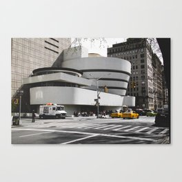 Guggenheim | Frank Gehry | architect Canvas Print
