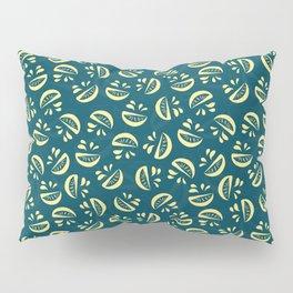 Abstract Lemonade Pillow Sham