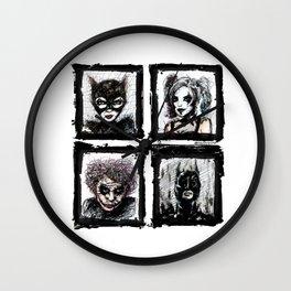 Heroes or Villians? Wall Clock