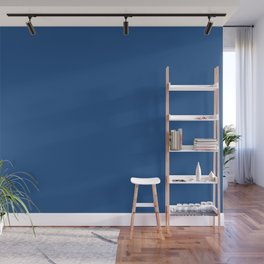 Classic Blue Wall Mural
