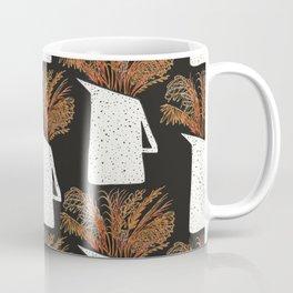 Autumn Still Life with Pampas Grass Coffee Mug