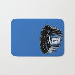 Casio F-105 Digital Watch Bath Mat