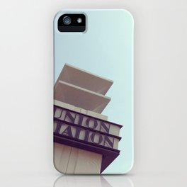 Union Station - Los Angeles iPhone Case