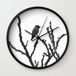 hummer in winter Wall Clock