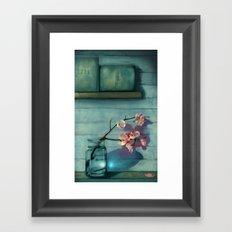 Wabi-Sabi Framed Art Print