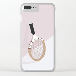 Tennis Clear iPhone Case