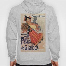 Vintage Ice skating palace Paris Hoody