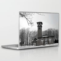 poland Laptop & iPad Skins featuring Poland Springs Museum by Catherine1970