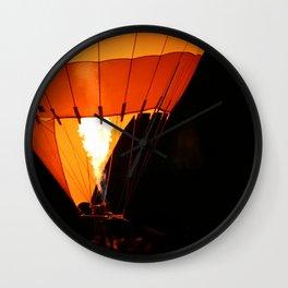 Hot Air Baloon Wall Clock