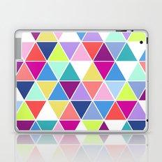 Multi Colour Triangle; Laptop & iPad Skin