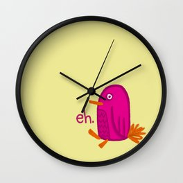 Eh Bird Wall Clock