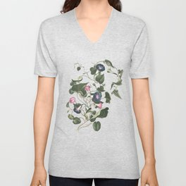 Little climbers- botanical watercolour Unisex V-Neck