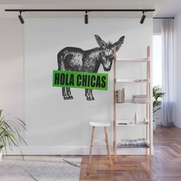 Hola Chicas Wall Mural
