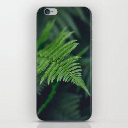 fairy fern iPhone Skin
