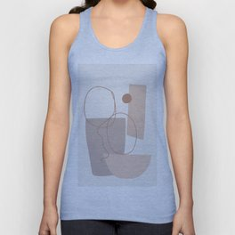 Abstract Shapes No.21 Unisex Tank Top