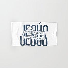 Jesus, nombre sobre todo nombre Hand & Bath Towel