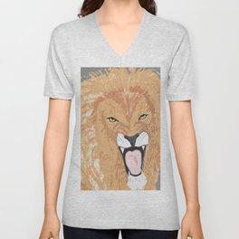 The Lion of the Tribe of Judah Unisex V-Neck