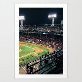 Fenway Park, Boston Art Print