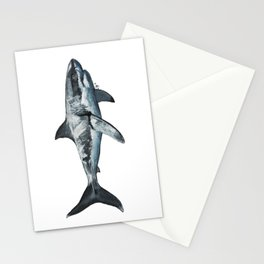 Great White (c) Stationery Cards