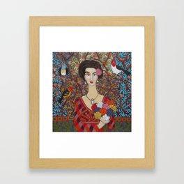 Sylvia Framed Art Print