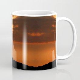 Horses in sunset Coffee Mug