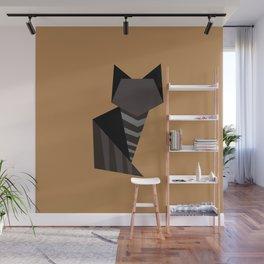 Little Black Cat Wall Mural