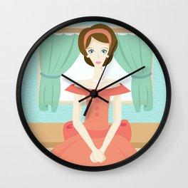 1950s Mama Wall Clock