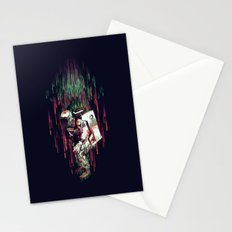 Falling from the Space Stationery Cards