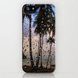 Rainy Vacation iPhone Case