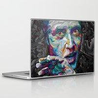 christopher walken Laptop & iPad Skins featuring christopher walken portrait  by Godhead