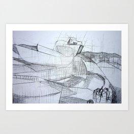 Bilbao Guggenheim Art Print