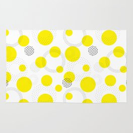 Dotted pattern Rug