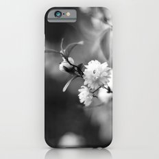 Flowering Almond in Black and White iPhone 6s Slim Case