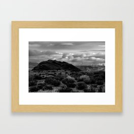 Depth Framed Art Print
