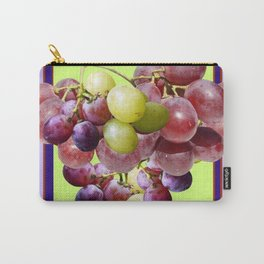 CLUSTER WINE GRAPES VINEYARD DESIGN Carry-All Pouch