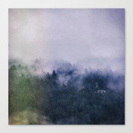 Forest Cump At Autumn Canvas Print