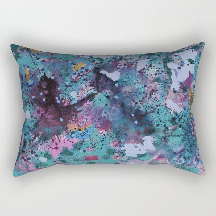 Sparkling nature in summer Rectangular Pillow