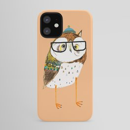 Owl Hipster iPhone Case